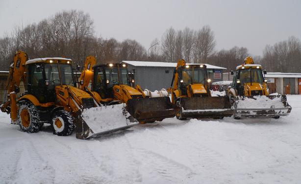 уборка снега в тольятти