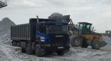 Scania P440 8×4